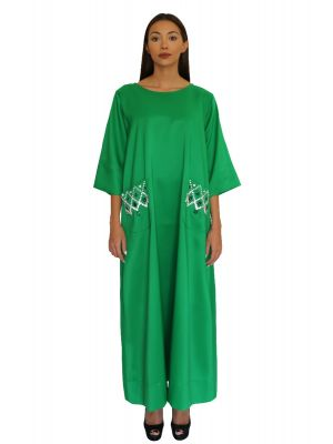 Empress Green Pocket Dress