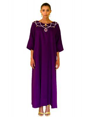 Queen Purple Single Dress