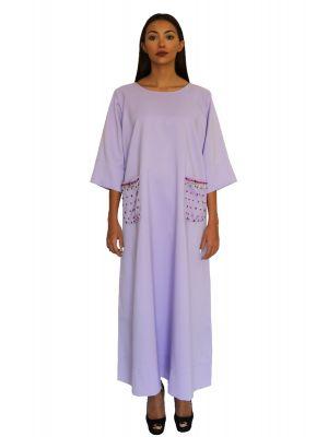 Viscountess Lavander Pocket Dress