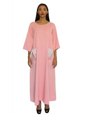 Marchioness Peach Pocket Dress