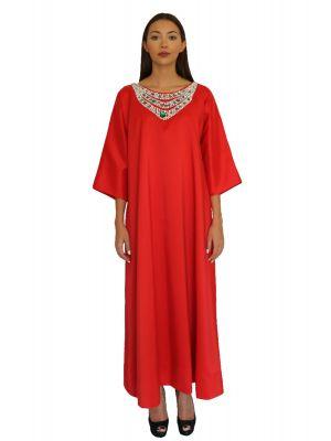 Reina Red Dress