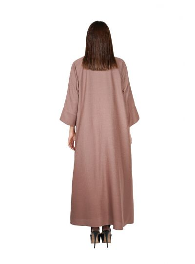 Rose Brown Abaya