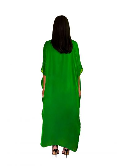 Green Square Dress