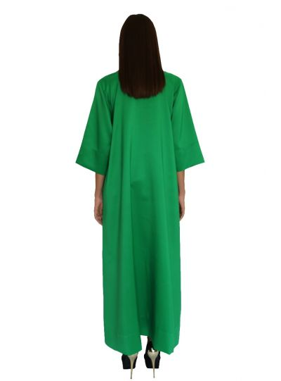 Empress Green Pocket Dress