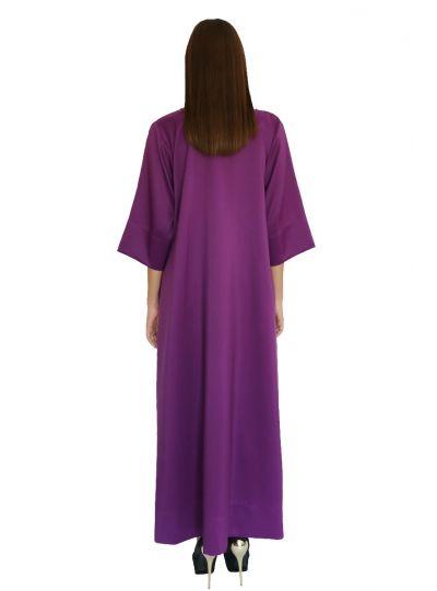 Queen Purple Pocket Dress