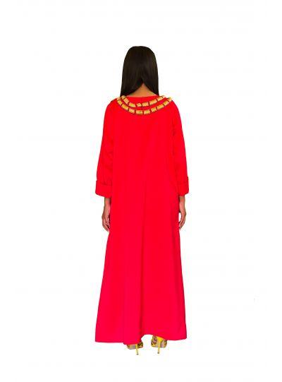 Red Snake Dress