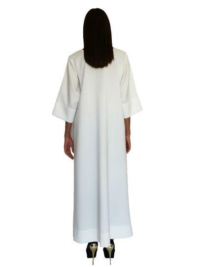 Viscountess White Pocket Dress
