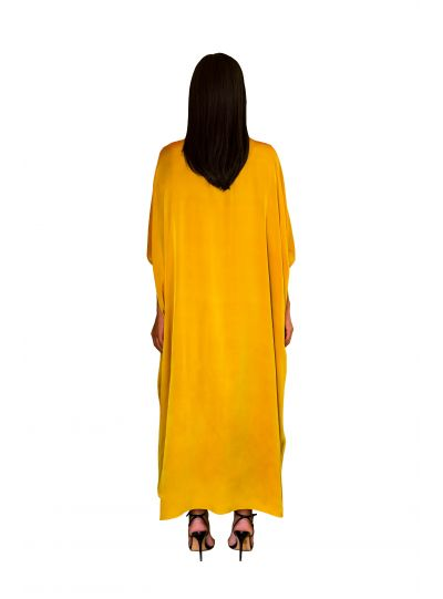 Yellow Square Dress