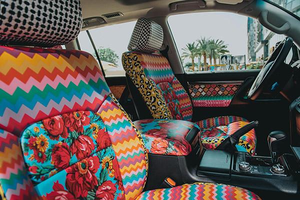 Emirati designer Fatma Al Mulla reimagines special-edition Land Cruiser