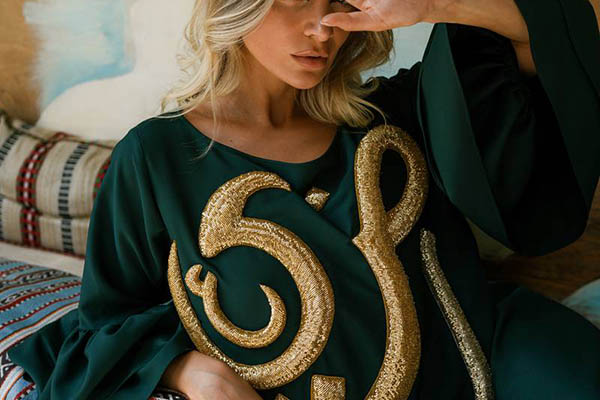 How Arabic calligraphy is weaving its way into the UAE's fashion industry